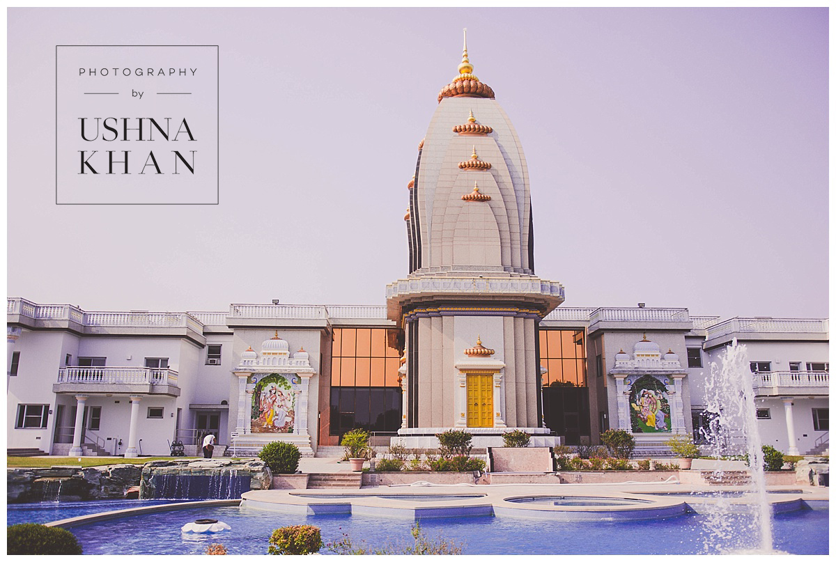 Austin Wedding Photographer, Radha Madhav Dham Temple