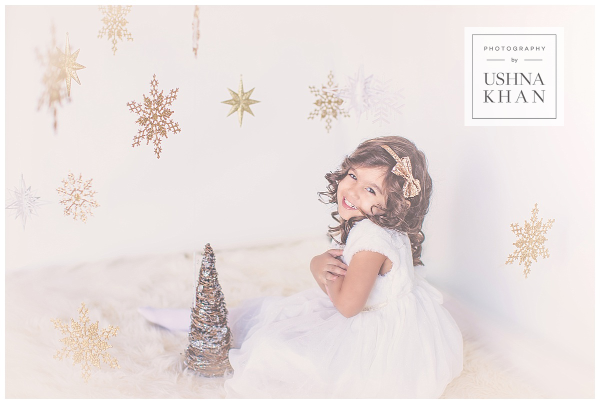 Cute Baby Photographer Arizona, Styled Holiday Session, White Christmas Photos