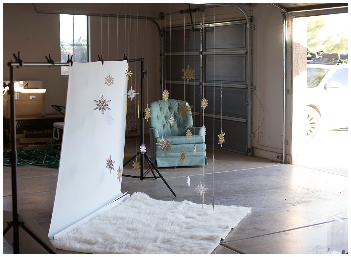 Behind the Scenes, Photography Tips, Arizona Baby Photographer, Holiday Photo Setup
