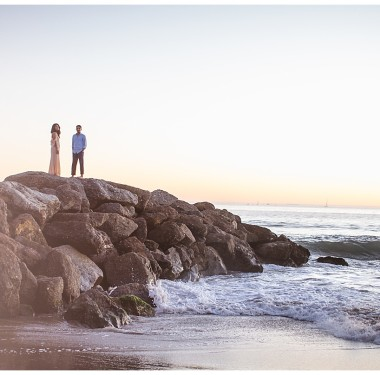 California | Meera & Venk's Engagement Session | Venice Beach & LACMA