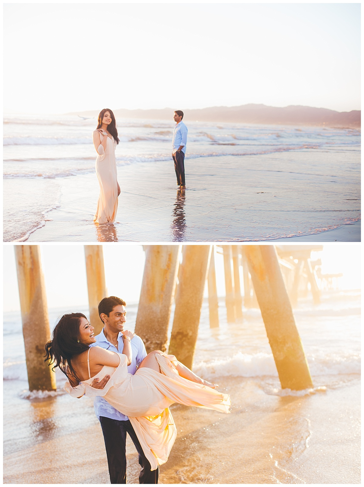 Venice Beach Engagement Session Photos