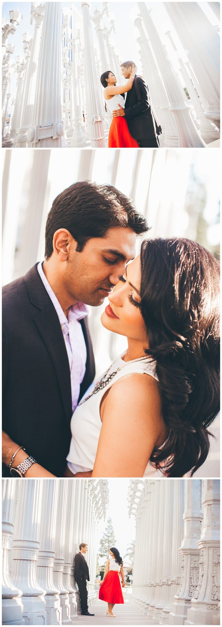 Los Angeles LACMA Engagement Session, California Photographer, Indian Wedding Photographer